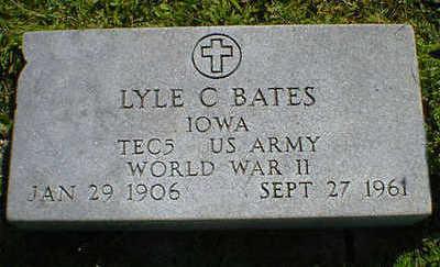 BATES, LYLE C. - Cerro Gordo County, Iowa | LYLE C. BATES