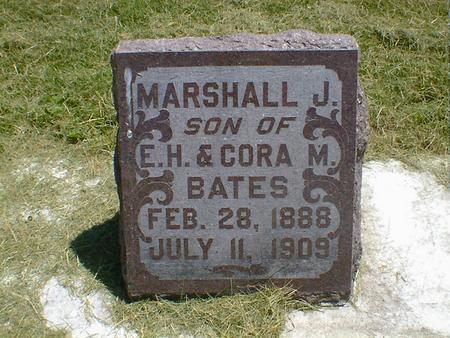 BATES, MARSHALL J. - Cerro Gordo County, Iowa | MARSHALL J. BATES
