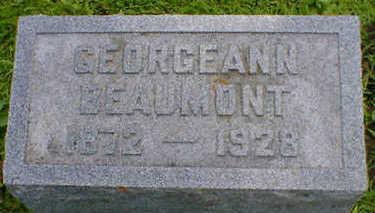 BEAUMONT, GEORGEANN - Cerro Gordo County, Iowa   GEORGEANN BEAUMONT