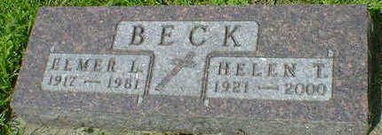 BECK, HELEN T. - Cerro Gordo County, Iowa | HELEN T. BECK