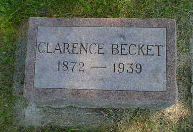 BECKET, CLARENCE - Cerro Gordo County, Iowa | CLARENCE BECKET
