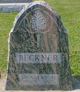 BECKNER, CHARLES A. - Cerro Gordo County, Iowa | CHARLES A. BECKNER