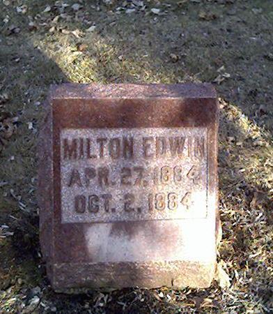 BEECHER, MILTON EDWIN - Cerro Gordo County, Iowa | MILTON EDWIN BEECHER