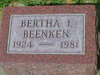 BEENKEN, BERTHA I. - Cerro Gordo County, Iowa | BERTHA I. BEENKEN