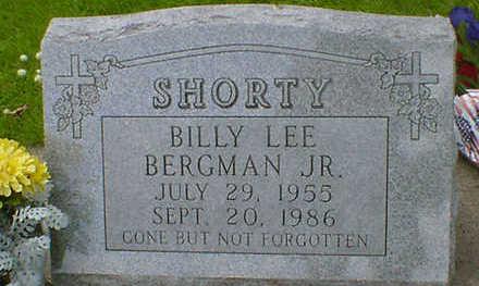 BERGMAN, BILLY LEE JR.