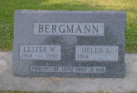 BERGMANN, LESTER W. - Cerro Gordo County, Iowa | LESTER W. BERGMANN