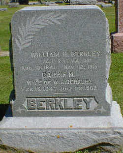 BERKLEY, WILLIAM H. - Cerro Gordo County, Iowa | WILLIAM H. BERKLEY