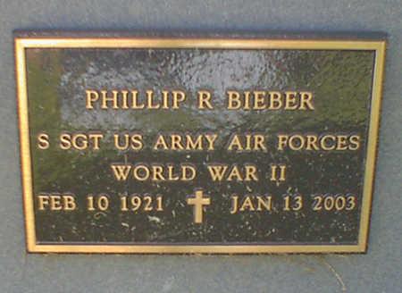 BIEBER, PHILLIP R. - Cerro Gordo County, Iowa | PHILLIP R. BIEBER