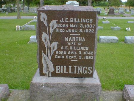 BILLINGS, MARTHA - Cerro Gordo County, Iowa | MARTHA BILLINGS