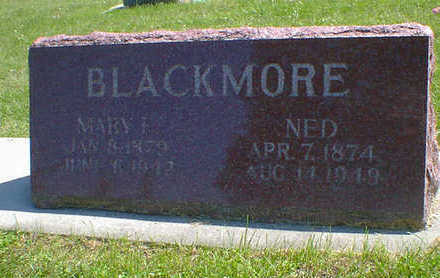 BLACKMORE, NED - Cerro Gordo County, Iowa | NED BLACKMORE