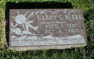 BLESS, LARRY L. - Cerro Gordo County, Iowa | LARRY L. BLESS