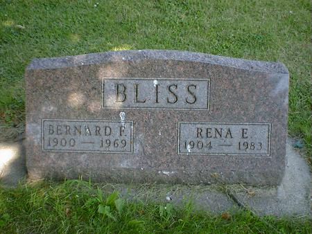 BLISS, RENA E. - Cerro Gordo County, Iowa | RENA E. BLISS