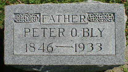 BLY, PETER O. - Cerro Gordo County, Iowa | PETER O. BLY