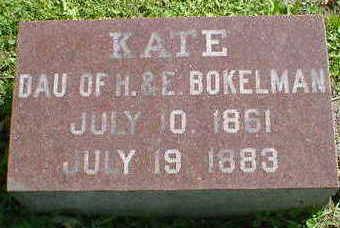 BOKELMAN, KATE - Cerro Gordo County, Iowa | KATE BOKELMAN