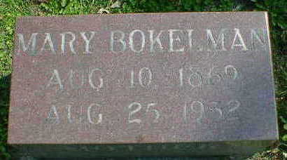 BOKELMAN, MARY - Cerro Gordo County, Iowa | MARY BOKELMAN