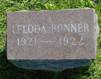 BONNER, LELODA - Cerro Gordo County, Iowa | LELODA BONNER