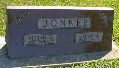BONNER, LLOYD H. - Cerro Gordo County, Iowa | LLOYD H. BONNER