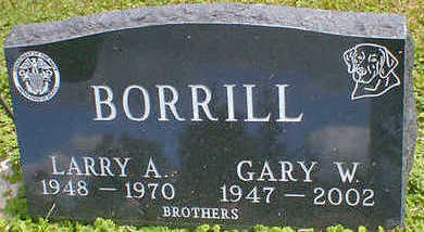 BORRILL, GARY W. - Cerro Gordo County, Iowa | GARY W. BORRILL