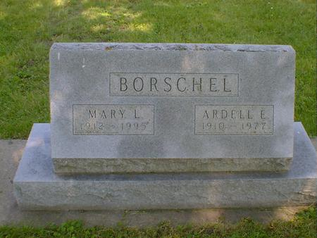 BORSCHEL, MARY LOUIS (LYNXWILER) - Cerro Gordo County, Iowa | MARY LOUIS (LYNXWILER) BORSCHEL