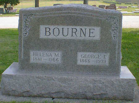 BOURNE, GEORGE T. - Cerro Gordo County, Iowa | GEORGE T. BOURNE