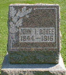 BOVEE, JOHN I. - Cerro Gordo County, Iowa | JOHN I. BOVEE