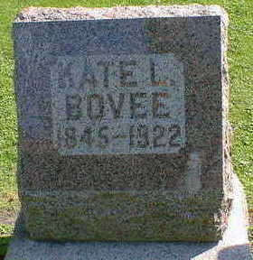 BOVEE, KATE L. - Cerro Gordo County, Iowa | KATE L. BOVEE