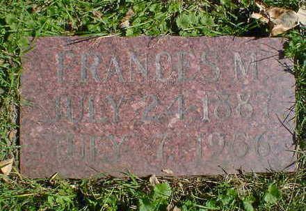 BOWERS, FRANCES M. - Cerro Gordo County, Iowa | FRANCES M. BOWERS