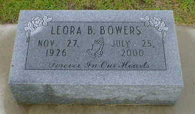 BOWERS, LEORA B. - Cerro Gordo County, Iowa | LEORA B. BOWERS