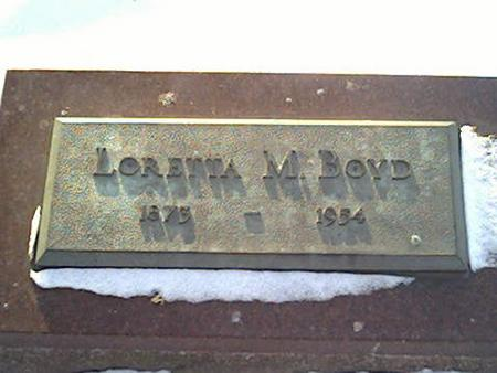 BOYD, LORETTA - Cerro Gordo County, Iowa | LORETTA BOYD