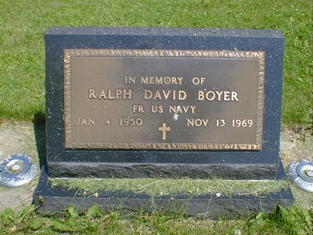 BOYER, RALPH DAVID - Cerro Gordo County, Iowa   RALPH DAVID BOYER