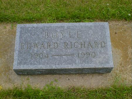 BOYLE, EDWARD RICHARD - Cerro Gordo County, Iowa | EDWARD RICHARD BOYLE