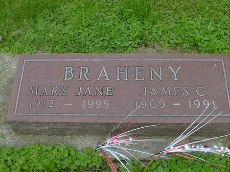 BRAHENY, MARY JANE - Cerro Gordo County, Iowa | MARY JANE BRAHENY