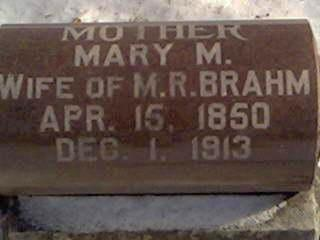 BRAHM, MARY - Cerro Gordo County, Iowa | MARY BRAHM