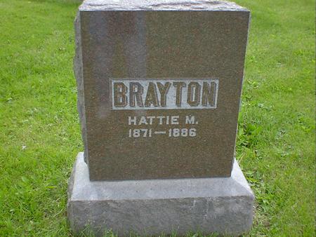BRAYTON, HATTIE M. - Cerro Gordo County, Iowa | HATTIE M. BRAYTON