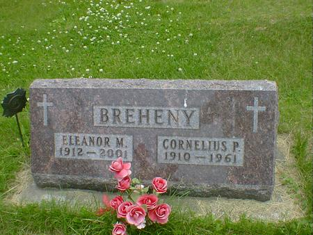 BREHENY, ELEANOR M. - Cerro Gordo County, Iowa | ELEANOR M. BREHENY
