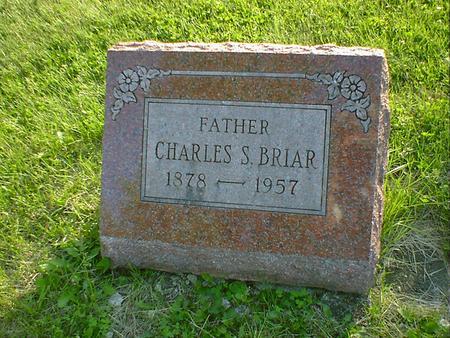 BRIAR, CHARLES S. - Cerro Gordo County, Iowa | CHARLES S. BRIAR