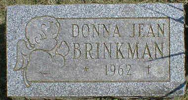 BRINKMAN, DONNA JEAN - Cerro Gordo County, Iowa | DONNA JEAN BRINKMAN