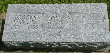 BROOKS, MARK W. - Cerro Gordo County, Iowa   MARK W. BROOKS