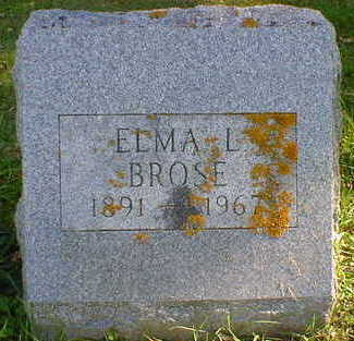 BROSE, ELMA L. - Cerro Gordo County, Iowa | ELMA L. BROSE