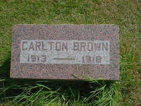 BROWN, CARLTON - Cerro Gordo County, Iowa | CARLTON BROWN