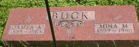 BUCK, JAMES A. - Cerro Gordo County, Iowa | JAMES A. BUCK