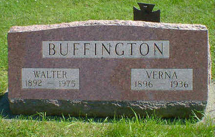 BUFFINGTON, WALTER - Cerro Gordo County, Iowa | WALTER BUFFINGTON