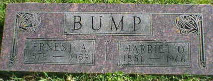 BUMP, ERNEST A. - Cerro Gordo County, Iowa | ERNEST A. BUMP