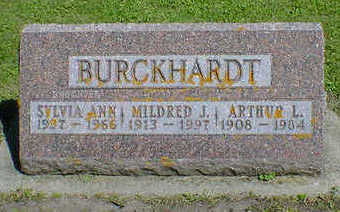 BURCKHARDT, MILDRED J. - Cerro Gordo County, Iowa | MILDRED J. BURCKHARDT