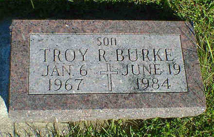 BURKE, TROY R. - Cerro Gordo County, Iowa | TROY R. BURKE