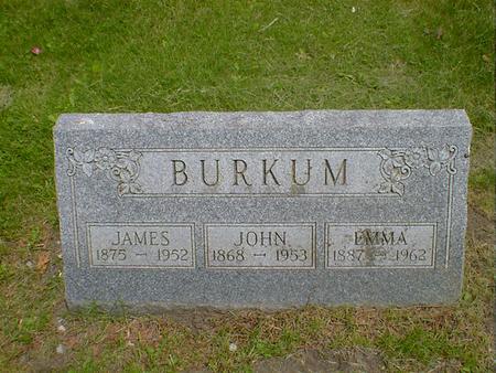BURKUM, EMMA - Cerro Gordo County, Iowa | EMMA BURKUM