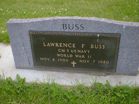 BUSS, LAWRENCE F. - Cerro Gordo County, Iowa | LAWRENCE F. BUSS