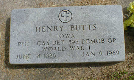 BUTTS, HENRY - Cerro Gordo County, Iowa | HENRY BUTTS