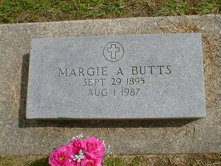 BUTTS, MARGIE A. - Cerro Gordo County, Iowa | MARGIE A. BUTTS