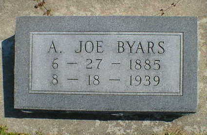 BYARS, A. JOE - Cerro Gordo County, Iowa | A. JOE BYARS